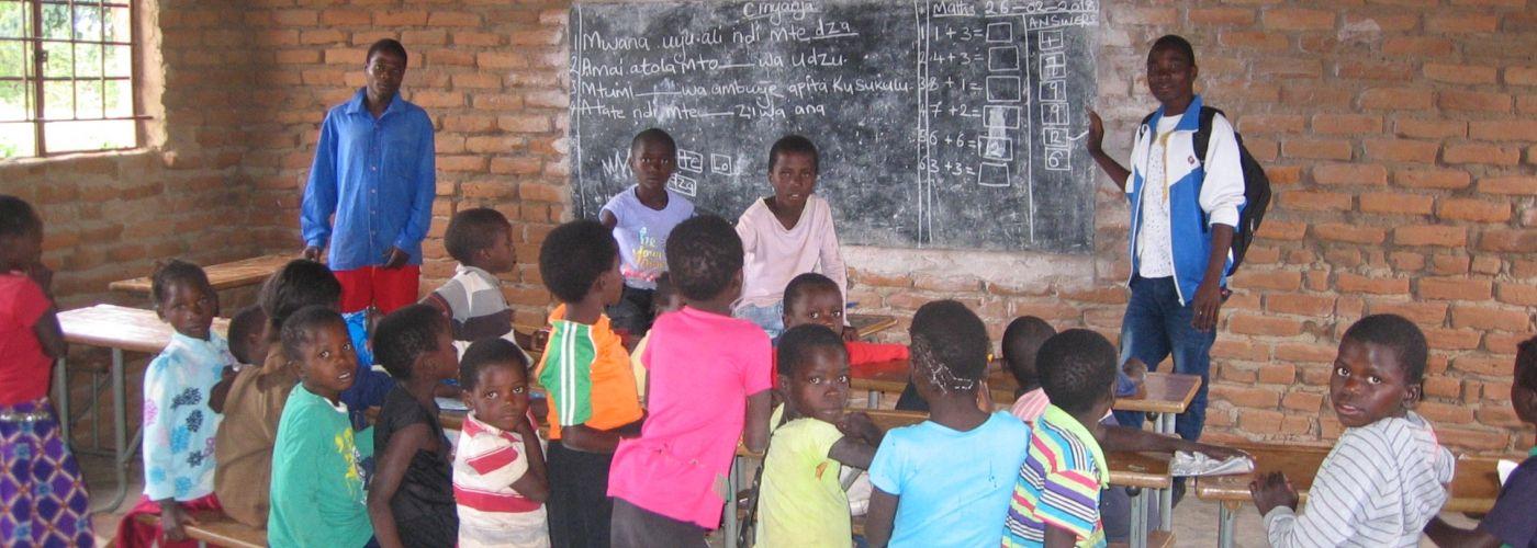 Kids in het klaslokaal