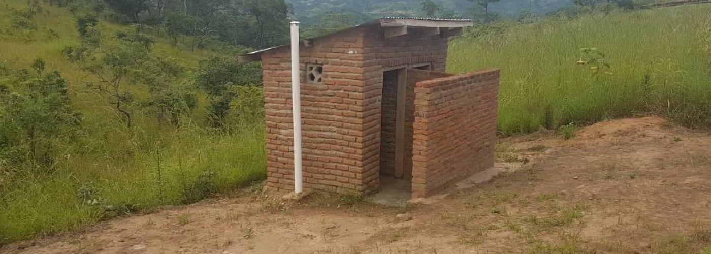 Het gerenoveerde latrineblok