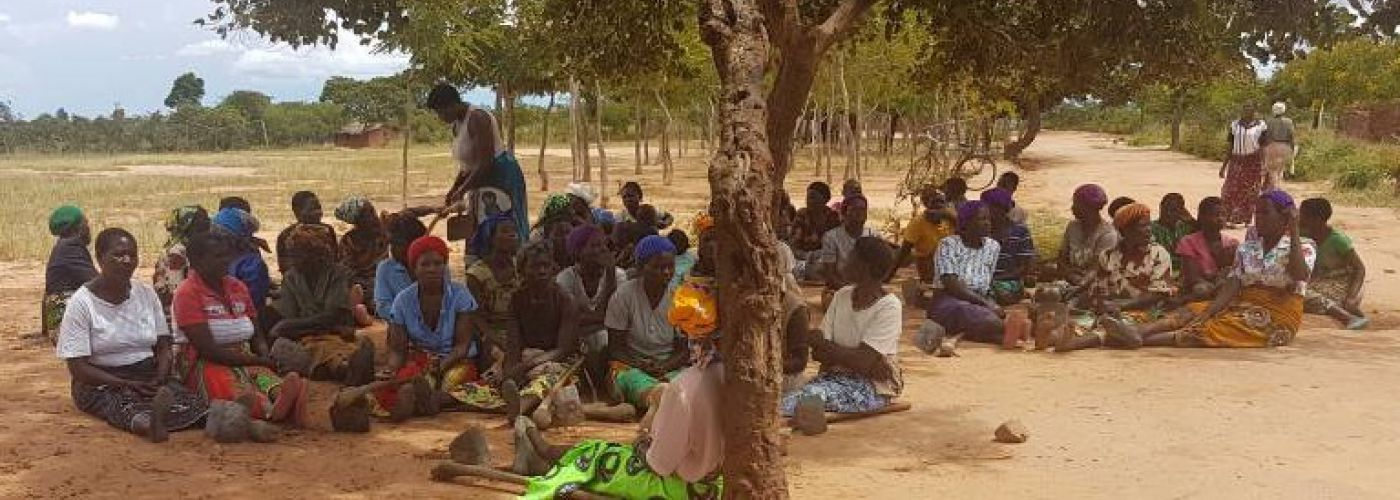 Ook de vrouwen hebben zich verzameld voor het SIP