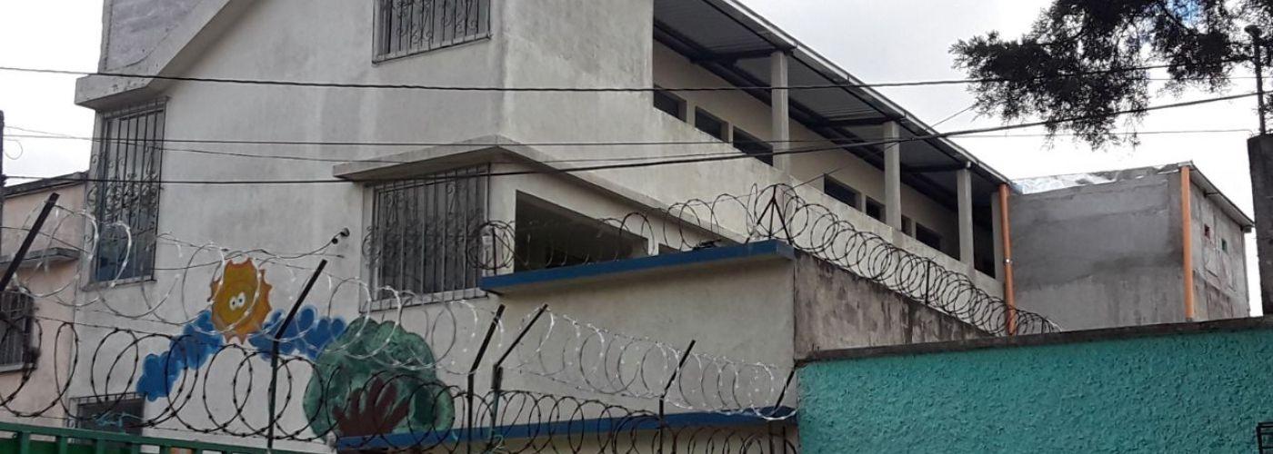 De nieuwe verdieping vanaf de buitenkant