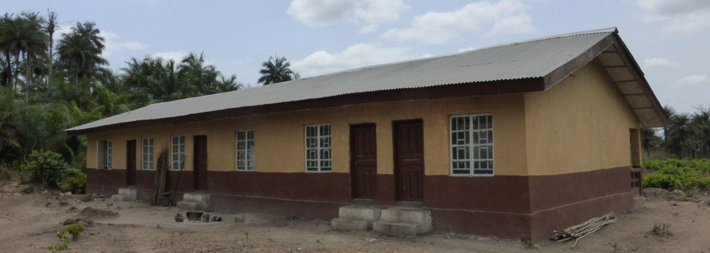 De woningen van de leraren