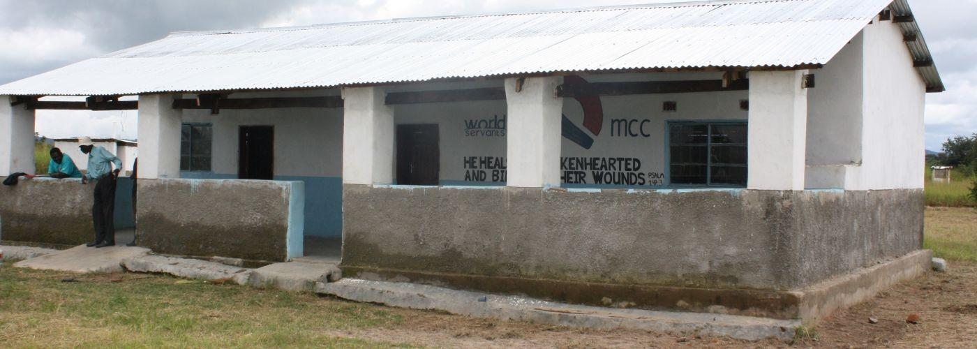 De kliniek in Malabi