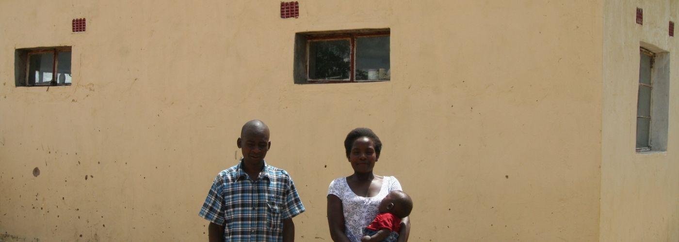 Het huis van de leerkracht en zijn gezin