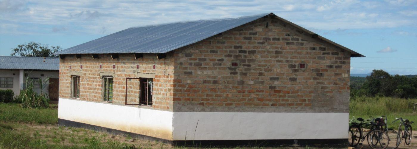 Eén van de twee nieuwe woningen voor medisch personeel