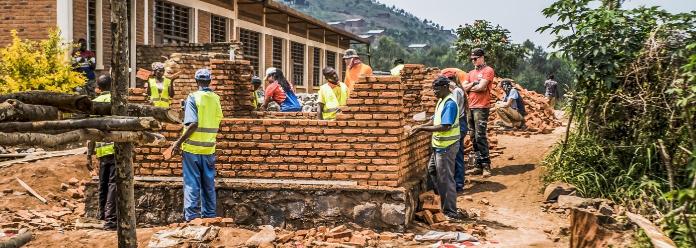 Bouwen aan de toekomst van Rwandese kinderen