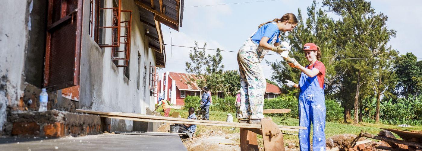 Bouw mee aan een kleuterschool in Oeganda