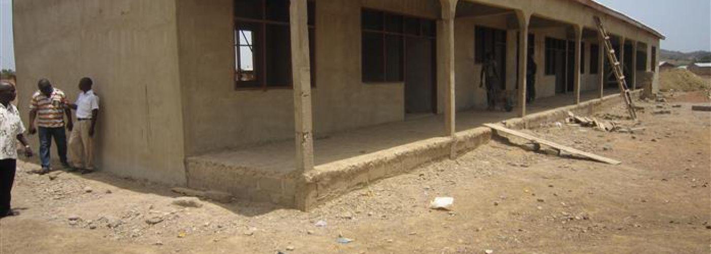 Nieuwe school in aanbouw