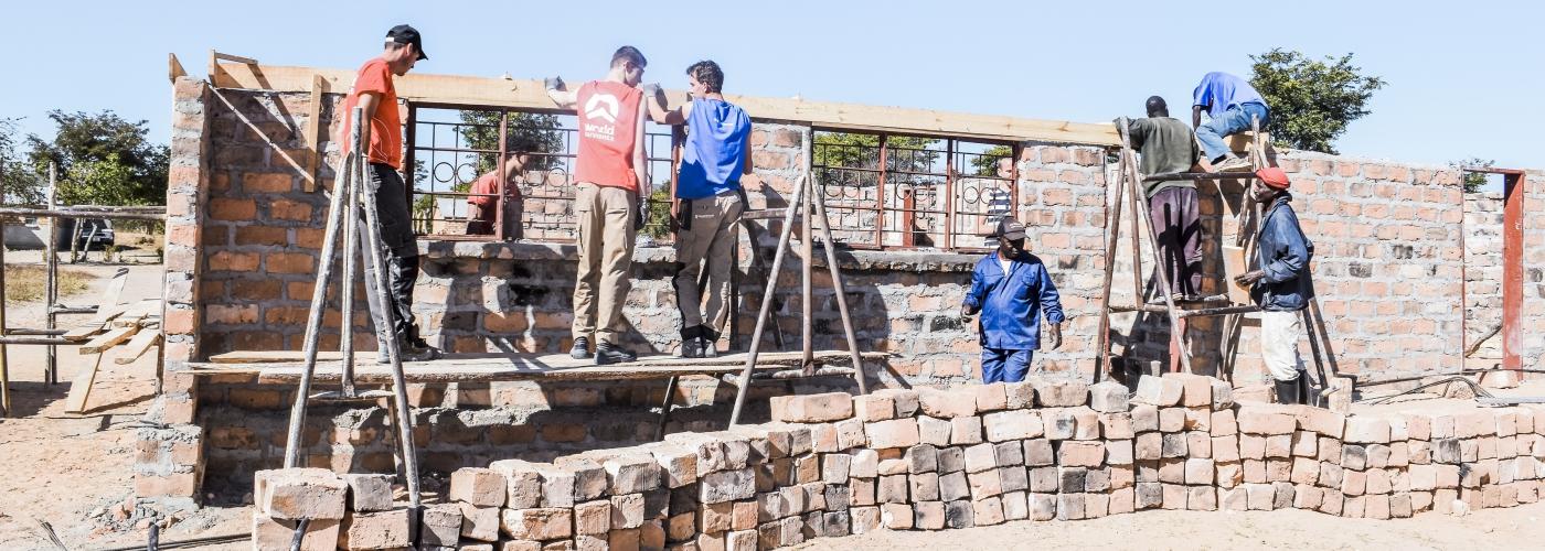 Leer bouwen met lokale materialen