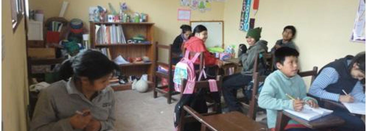 Huidige school lokaal