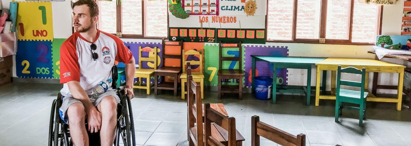 Op bezoek in een kleuterschool