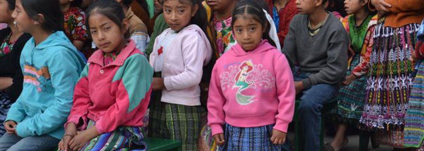 Kinderen die de opvang bezoeken