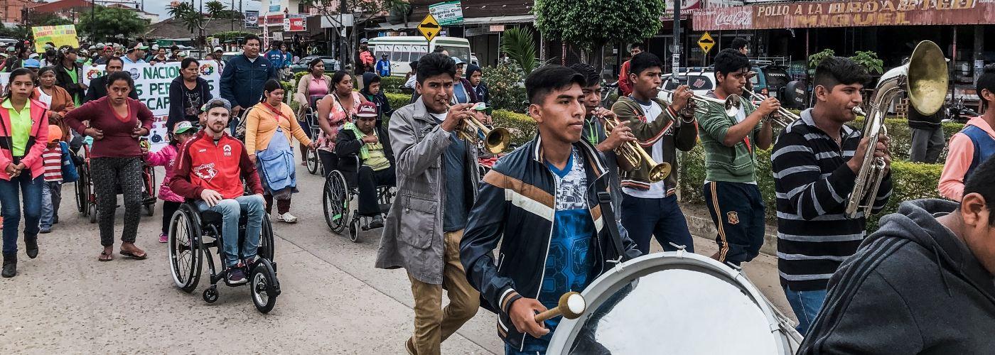Versterk de rechten van gehandicapten in Bolivia