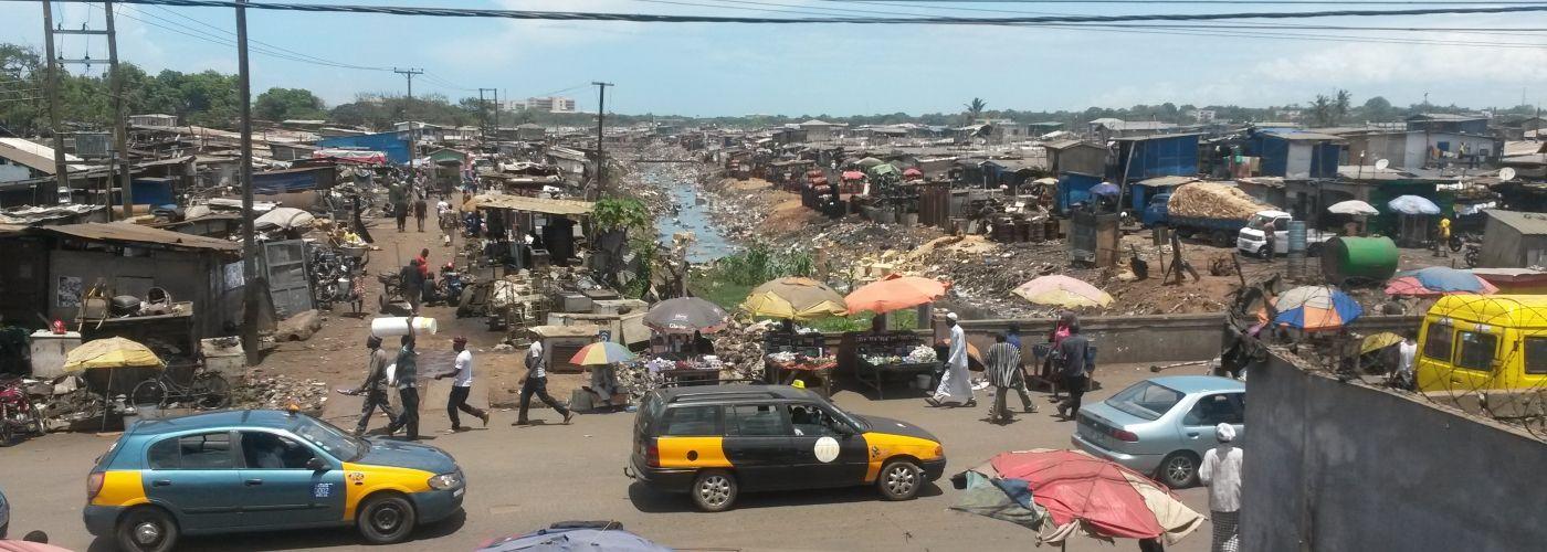 Maak kennis met de hectiek van wereldstad Accra