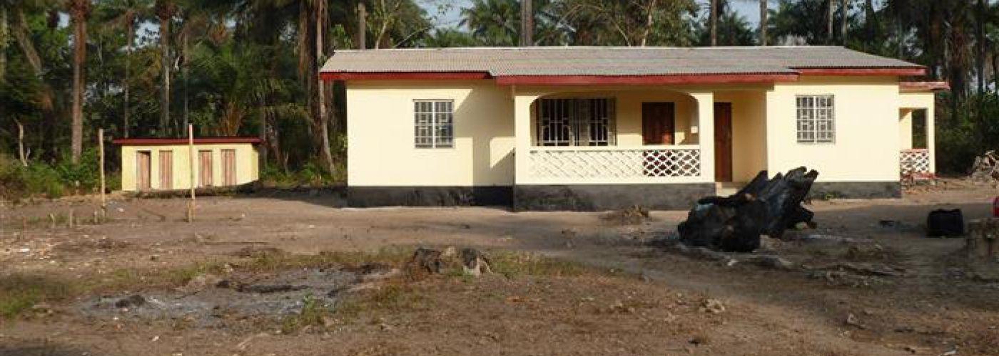 Nieuwbouw nurses quarters-voorgevel
