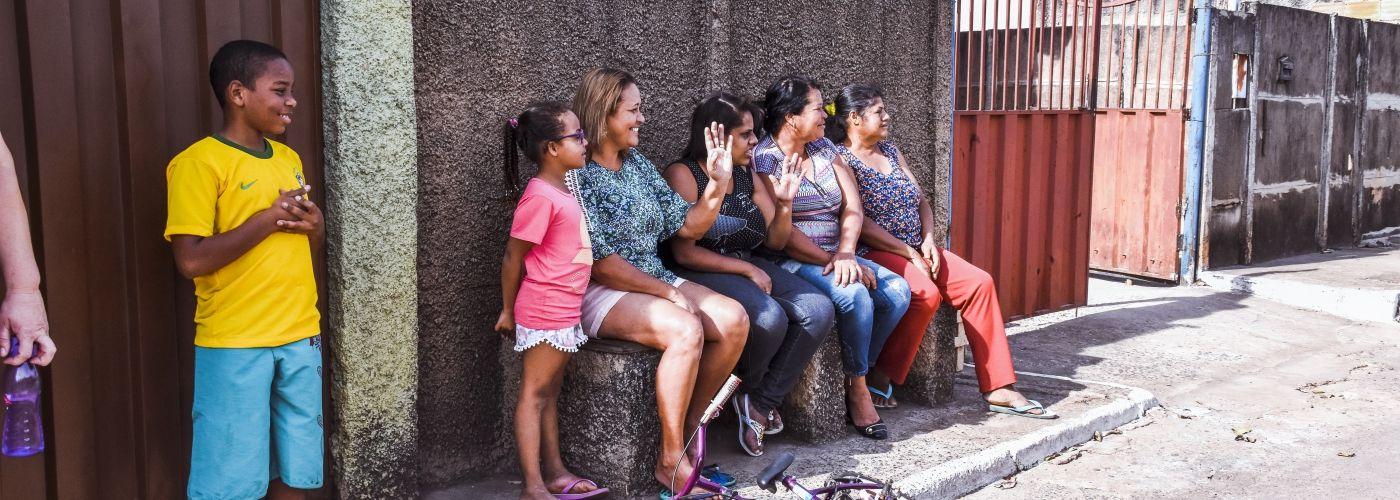 Braziliaanse hartelijkheid