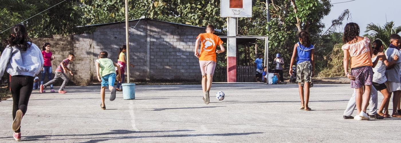 Sport samen met de bevolking