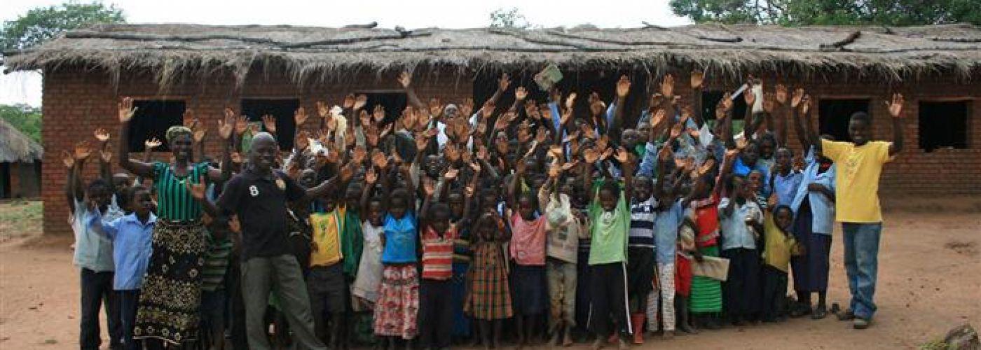 Kinderen in Kavinaka